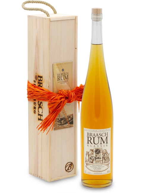 Braasch Rum Klassik · 1,5L in Holzkiste