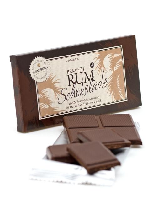Braasch Rum Schokolade · 80g