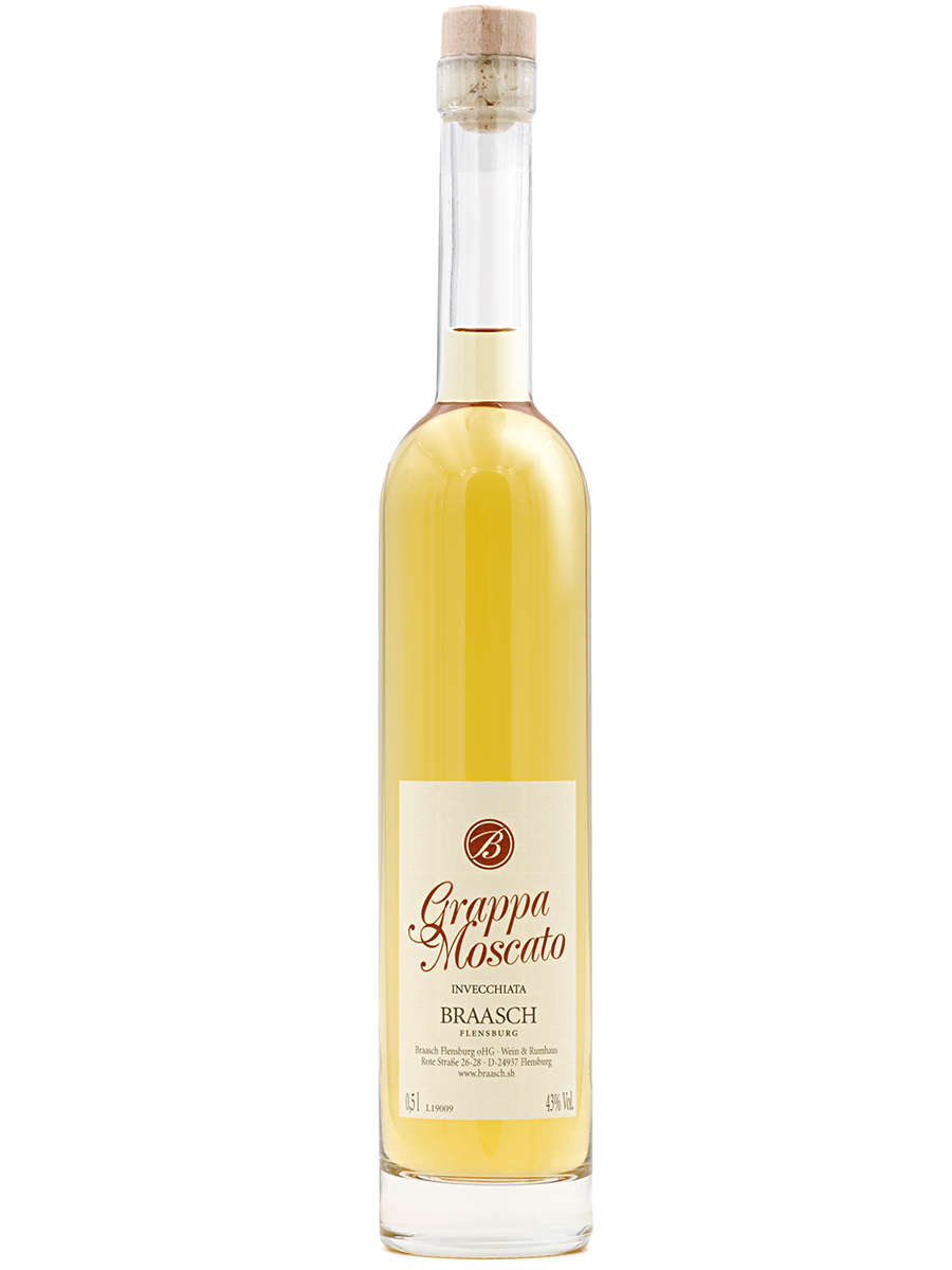 "Braasch Grappa ""Moscato"" · 0,5L"
